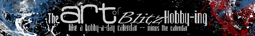 Blog of Soul on Blitz Hobby-ing