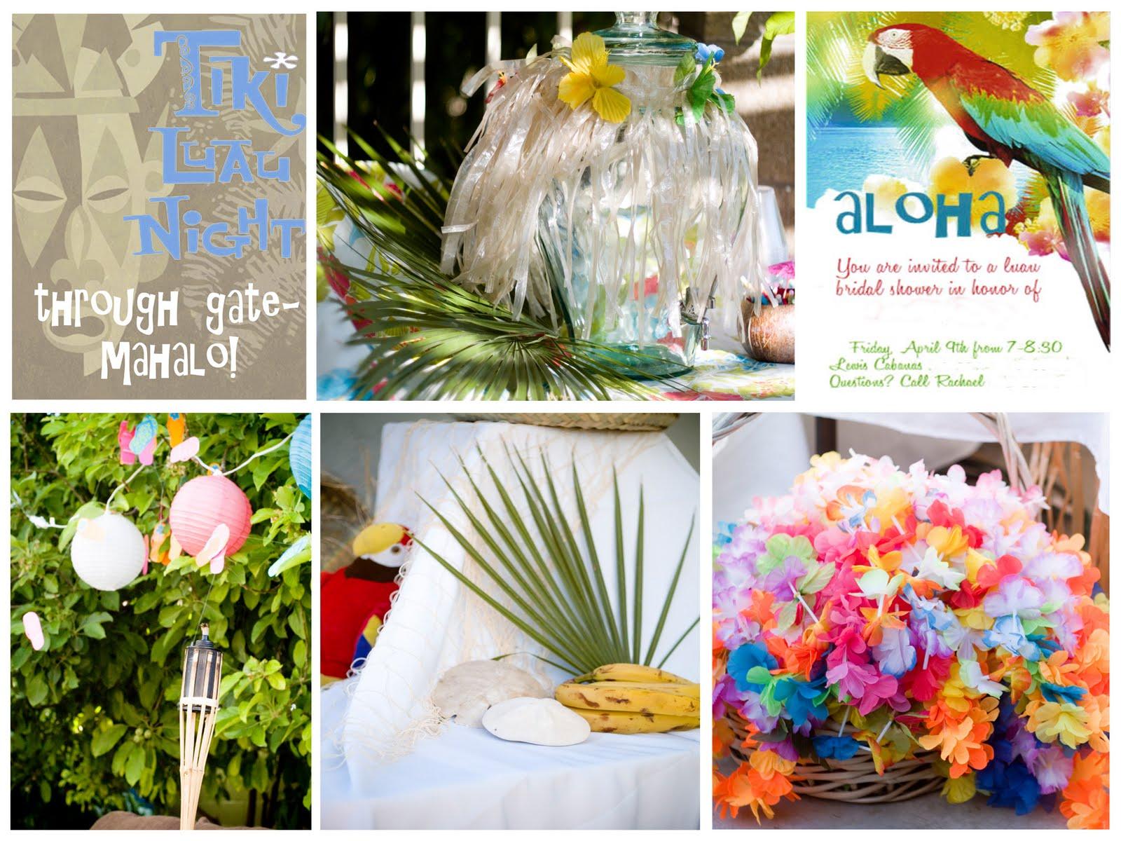 Phoenix Event Planning Luau Bridal Shower