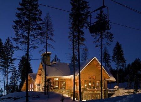 Mtblu lo chalet di montagna for Noleggio cabina di lusso in montagna in virginia