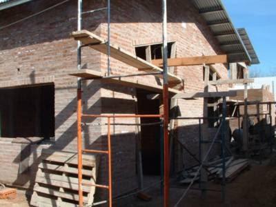 Diario de un arquitecto los muros de ladrillo visto la - Muros de ladrillo visto ...