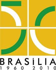 "BRASÍLIA - Distrito Federal.""50 anos"""