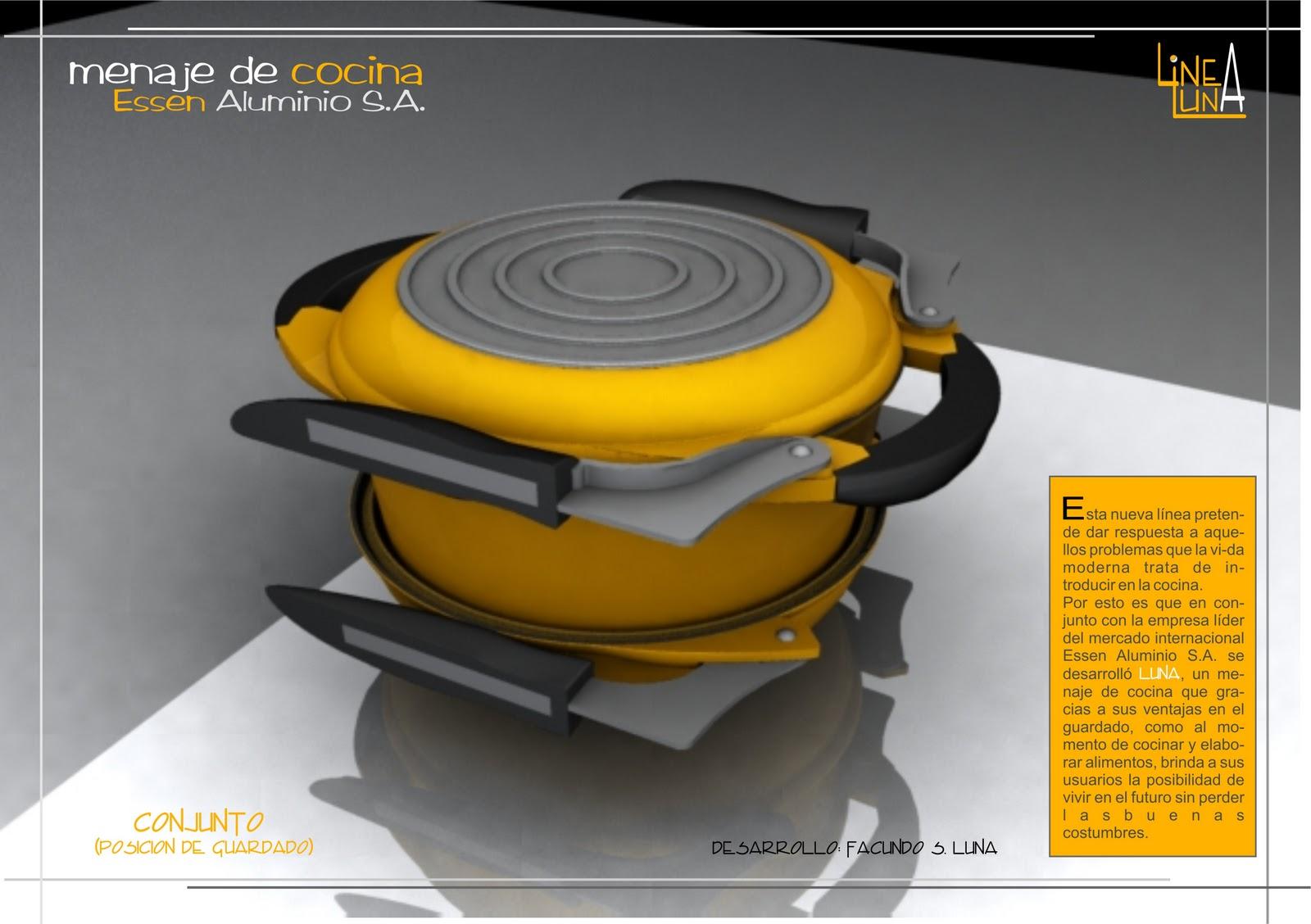 Dos por cuatro estudio dise o industrial menaje de cocina for Menaje industrial