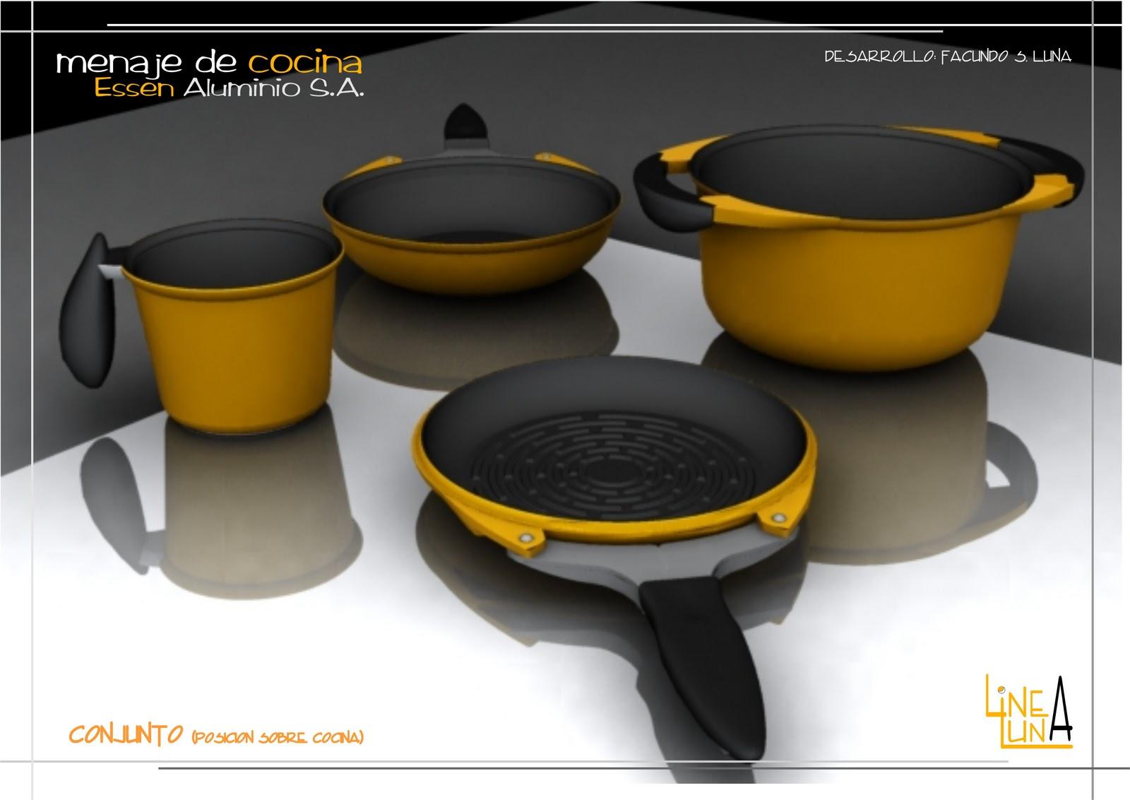 Dos por cuatro estudio dise o industrial menaje de cocina for Menaje de cocina industrial