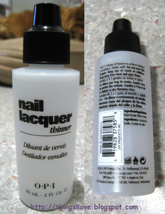 Things i love september 2010 review opi lacquer thinner do you have bottles of nail solutioingenieria Choice Image