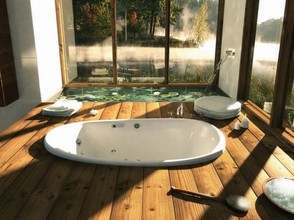 Diseno De Baños Para Jardin: , comedores, baños, jardines: diseños preciosos de cuarto de baño