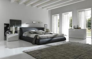 Modernes Schlafzimmer Dekorieren -  Modern Schlafzimmer