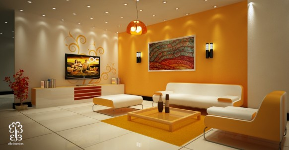 Decora tu casa fotos dise o y decoraci n de dormitorios for Colores calidos para living comedor