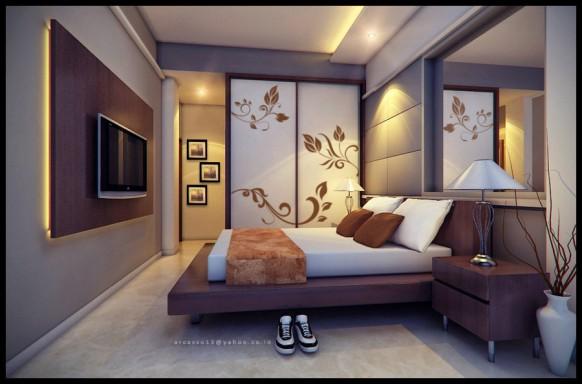 Decora tu casa fotos dise o y decoraci n de dormitorios - Colores paredes dormitorio ...