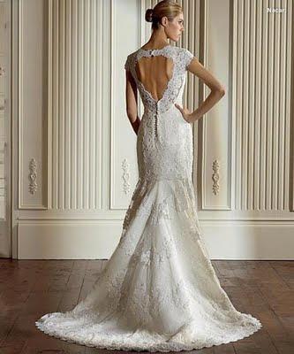 tita bae: vestidos de novia con espaldas sensuales
