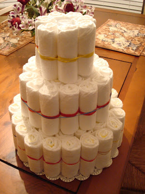 Susiestampalot How To Make A Diaper Cake