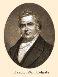 william colgate history