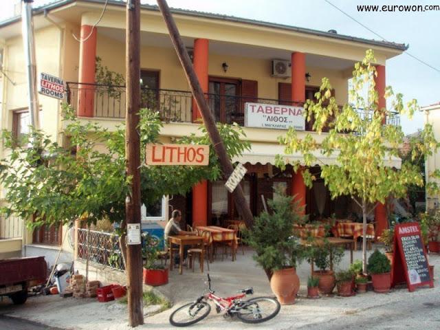 Hotel Lithos de Kastraki en Meteora