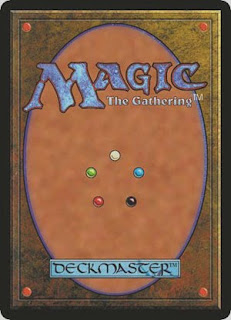 Reverso de una carta de Magic: The Gathering