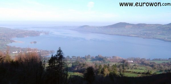 Lough Derg cerca de Killaloe