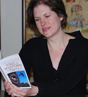 Kelsey Bates reading To Kill A Mockingbird