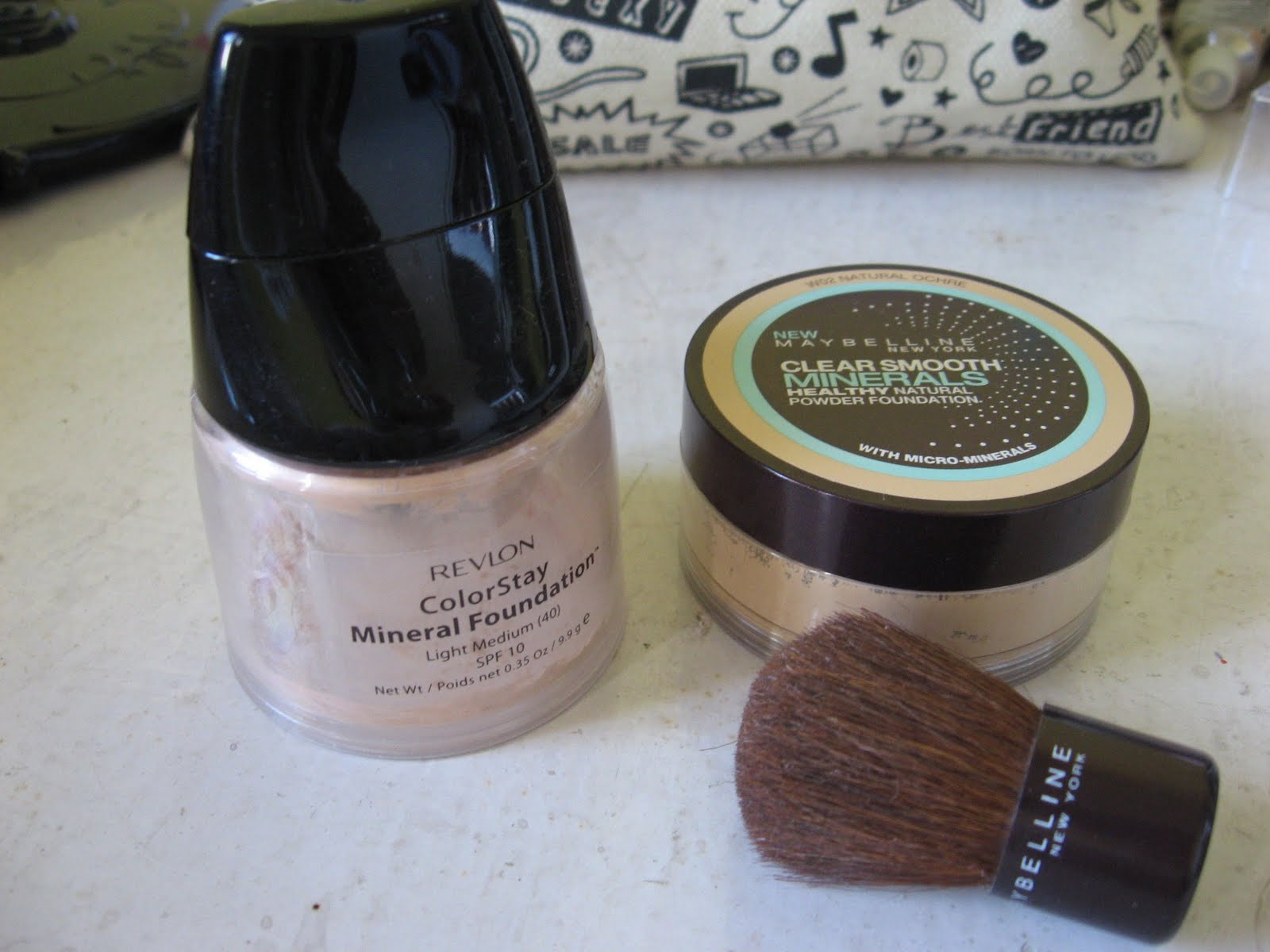 The Curly Girl Journal Mineral Foundie Revlon Vs Maybelline