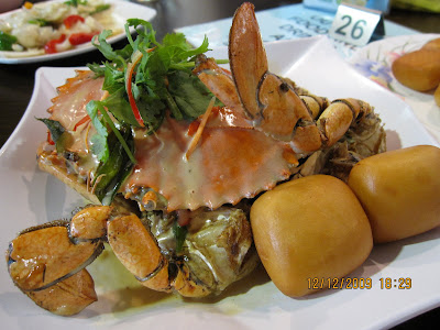 ... prefer butter crab so we ordered the latter creamy butter crab sgd 34