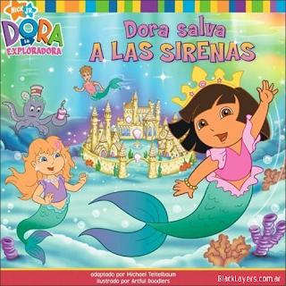 Dora Salva a las Sirenas (2007). DVDRip latino  El Oso Panda