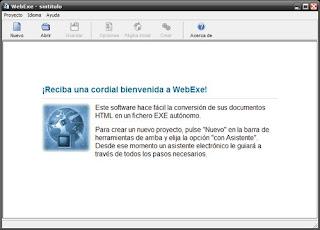 Convierte websites completas en ejecutables