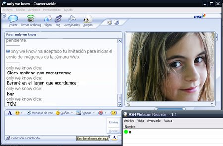 MSN Webcam Recorder es una herramienta que te permitirá grabar vídeo desde ...