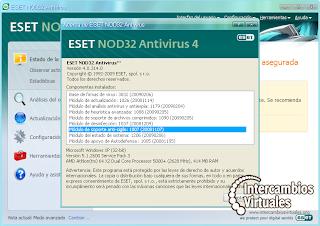 ESET NOD32 Antivirus v4 0 437 0 serial, Actualizar nod32 v4 bus.