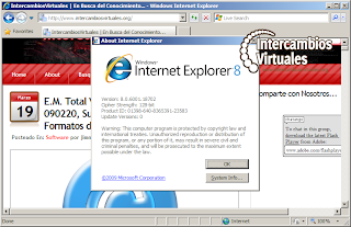 descargar explorer 8 para windows xp gratis en español