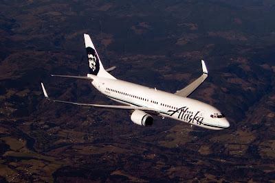 Boeing 737-800 en el que se aprecian los bordes de ataque sin pintar en distintas zonas