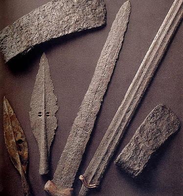 Instrumentos de la Edad de Hierro