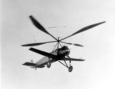 Autogiro Cierva C8W