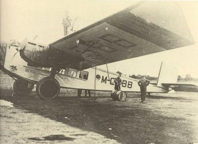 Rohrbach R-VIII Roland, uno de los primeros aviones de Iberia
