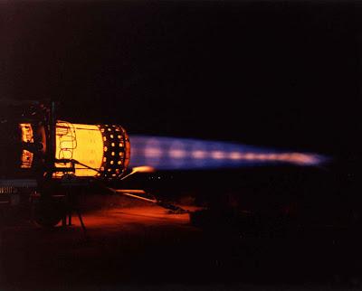 Motor Pratt & Whitney J58 con postcombustor