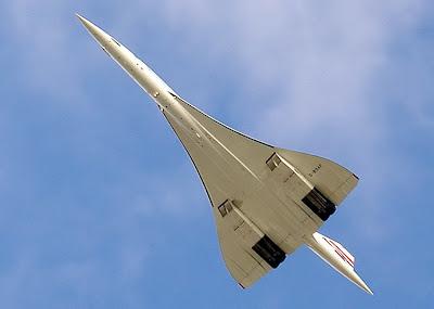 Último vuelo del Concorde desde el aeropuerto de Heathrow a Bristol, el 26 de Noviembre de 2003.