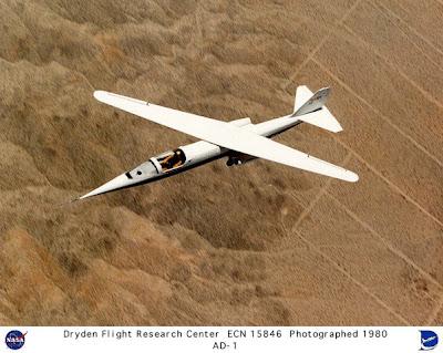 Avión experimental de ala oblicua AD-1