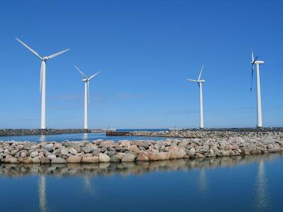 Aerogeneradores en Dinamarca