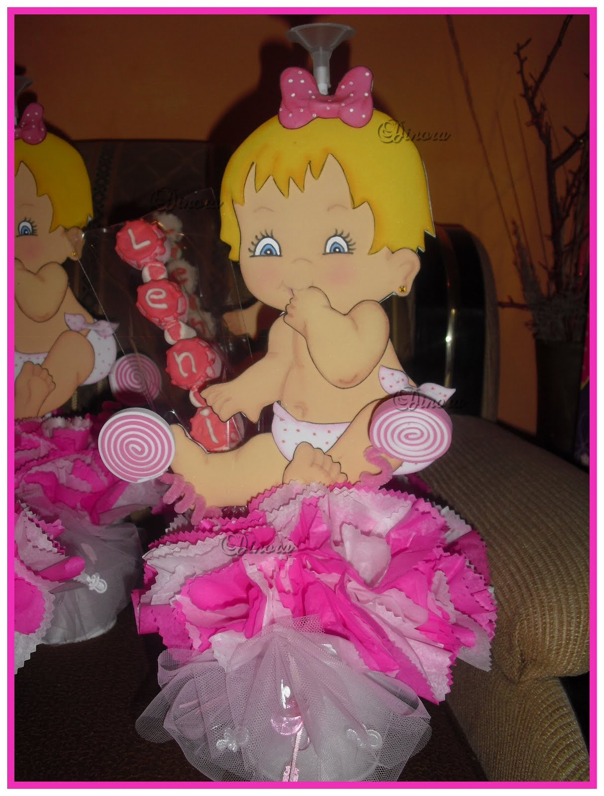 Baby Shower Decoracion Niña ~ Baby shower food ideas para nina