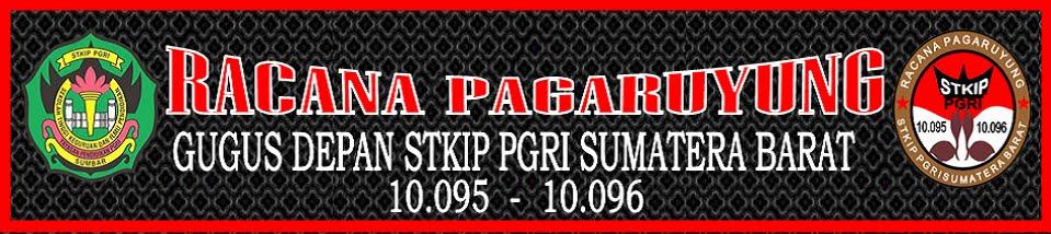 UKM Pramuka Racana Pagaruyung STKIP PGRI Sumatera Barat
