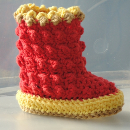 Crochet Boot Cuffs – Free Pattern — Compulsive Craftiness
