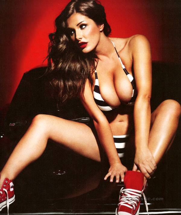 nuts lucy pinder