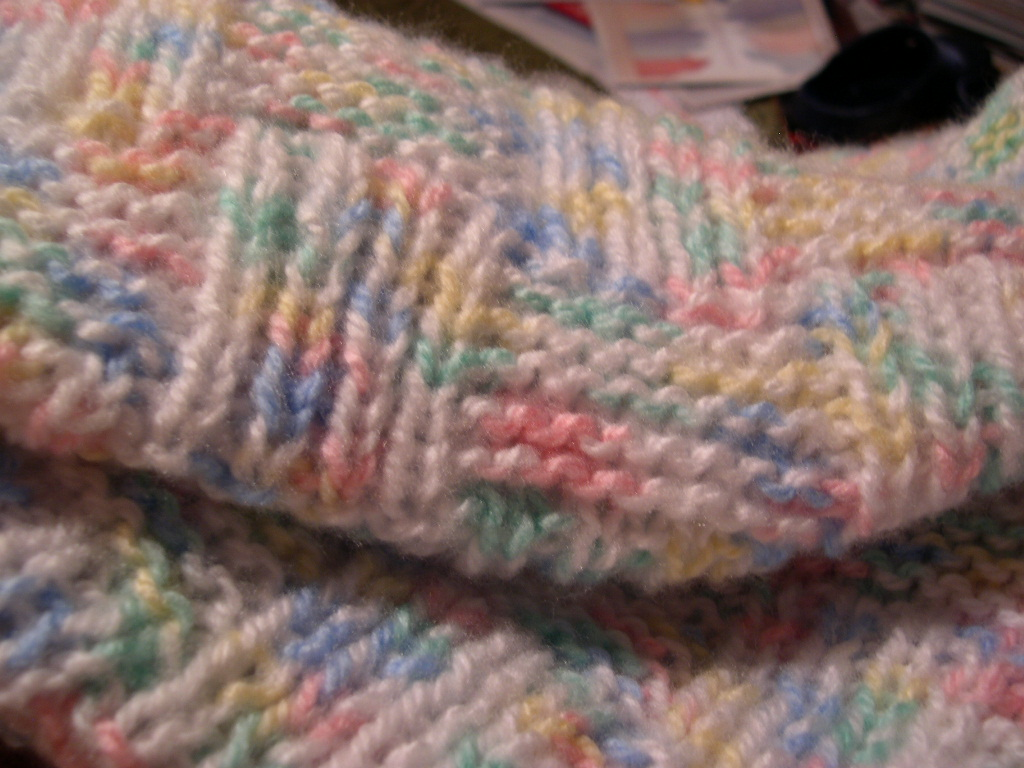 Free Blanket Knitting Patterns For Babies : Teaching Cats to Knit: FREE KNITTING PATTERN - Garter and Rib Basketweave Bab...