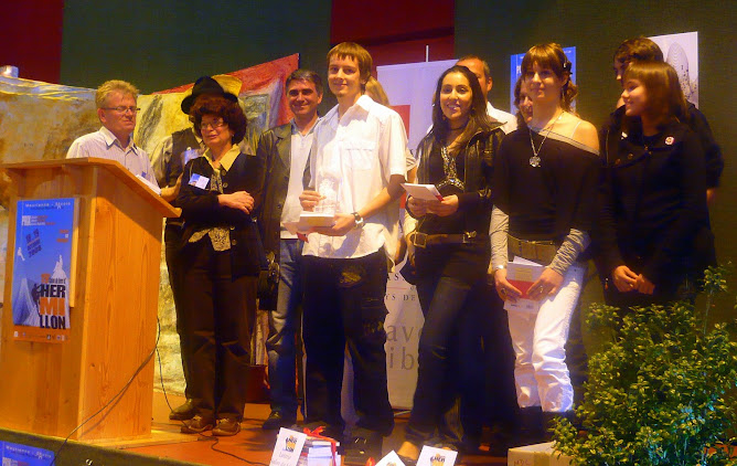Ludovic KELLER - Lauréat 2008 du prix de lecture à haute voix Charles MALY
