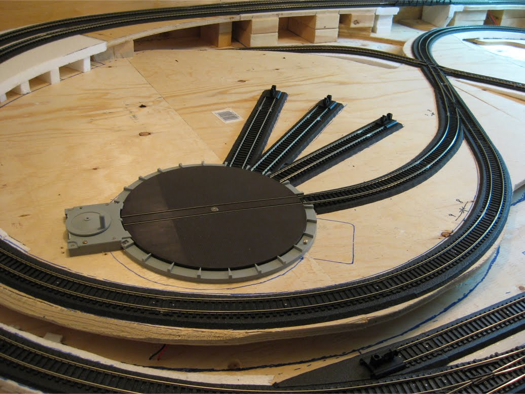 ty s model railroad laying track part ii rh tysmodelrailroad blogspot com Atlas Controller Wiring Diagram Atlas Wiring for Model Railroads
