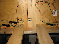 Under table switch machine wiring