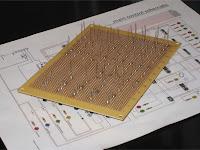 Resistor board solder points