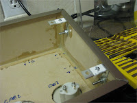 Control panel brackets