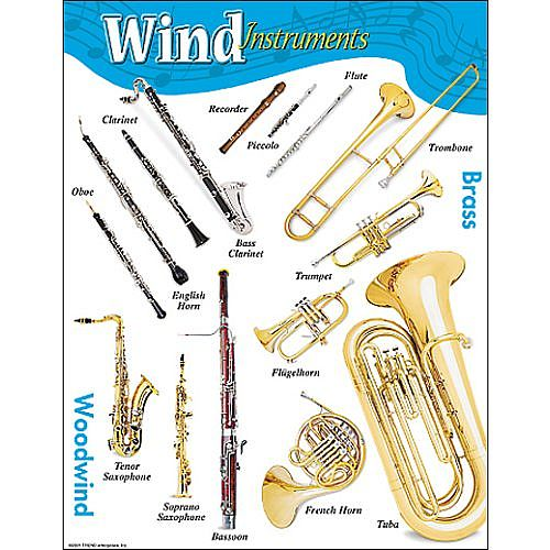 A wind instrument is a musical