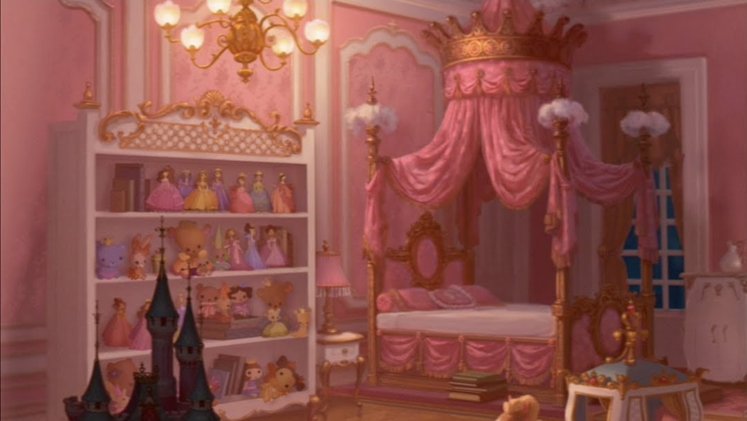 Animation backgrounds the princess and the frog 2009 for Frog bedroom ideas