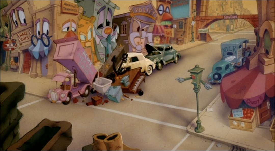 Animation Backgrounds: WHO FRAMED ROGER RABBIT?