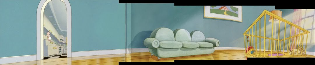 Heres A Digitally Recreated Pan B G Roger Rabbits Living Room What Is Baby Herman Up To In The Kitchen