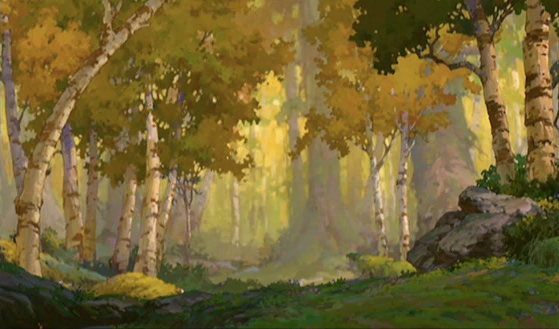 Background For Character Design : Silver chameleon brother bear