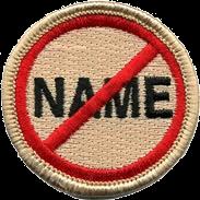 No Name Award